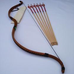 Scythian traditional bow set
