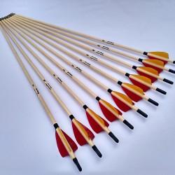 Wooden arrows for kids