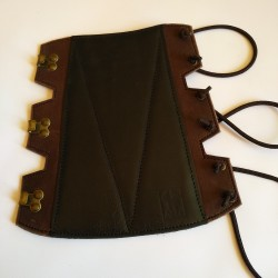 Four layer cow leather...